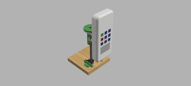 3d Printed Manual Test Stand