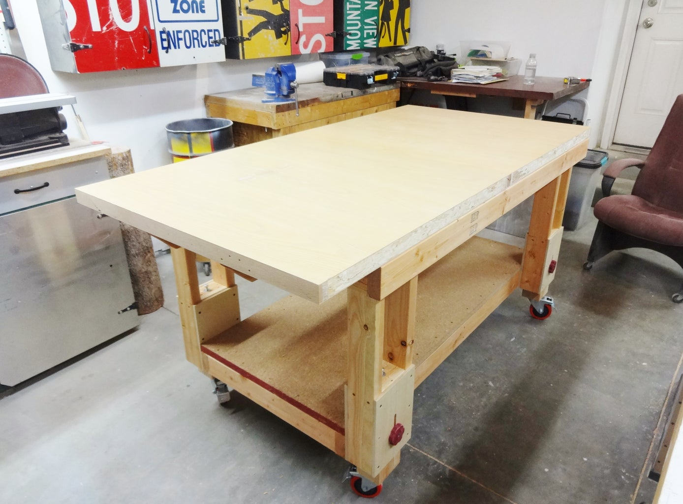 Add Top, Trim and Vise