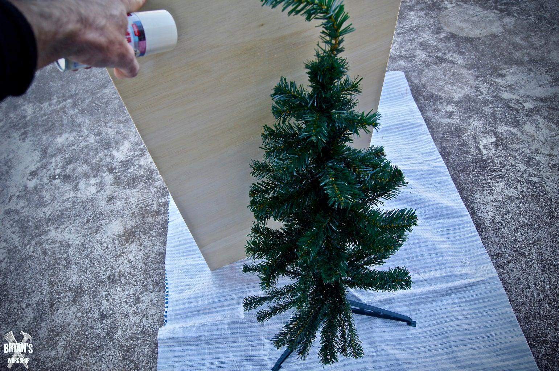 Spray Paint the Tree!