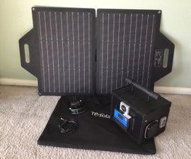 Make a Portable Solar Power Generator