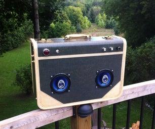 Vintage Beat Box Suitcase
