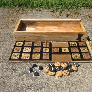 The Royal Game of Ur - Minimalist Design
