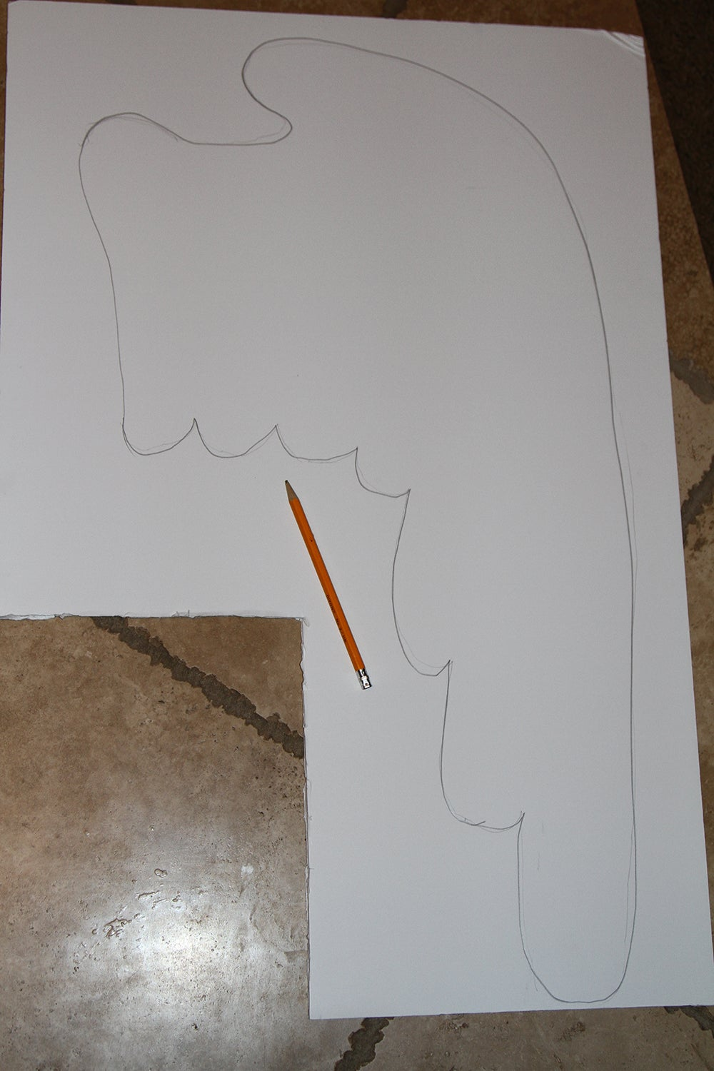 Step 1 Cut Out Your Foam Poster Board