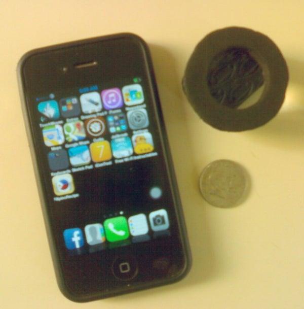 IPhone Home Made Macro Lens