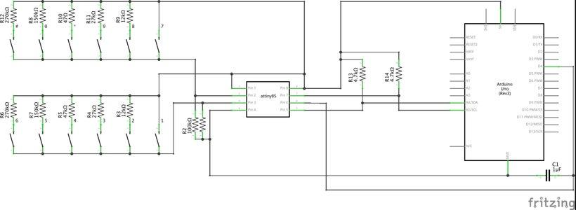 Wiring the Keypad