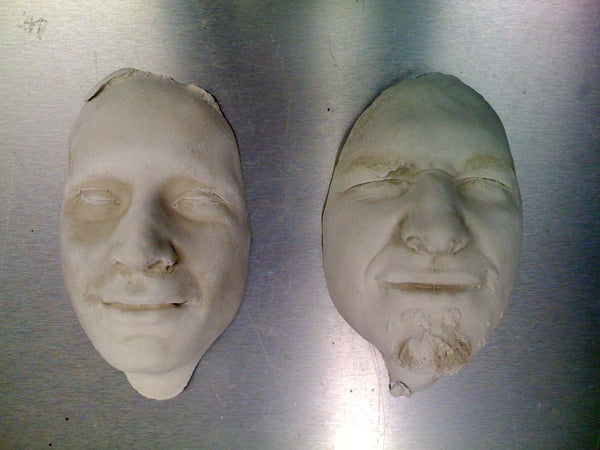 How to Cast a Face in Plaster