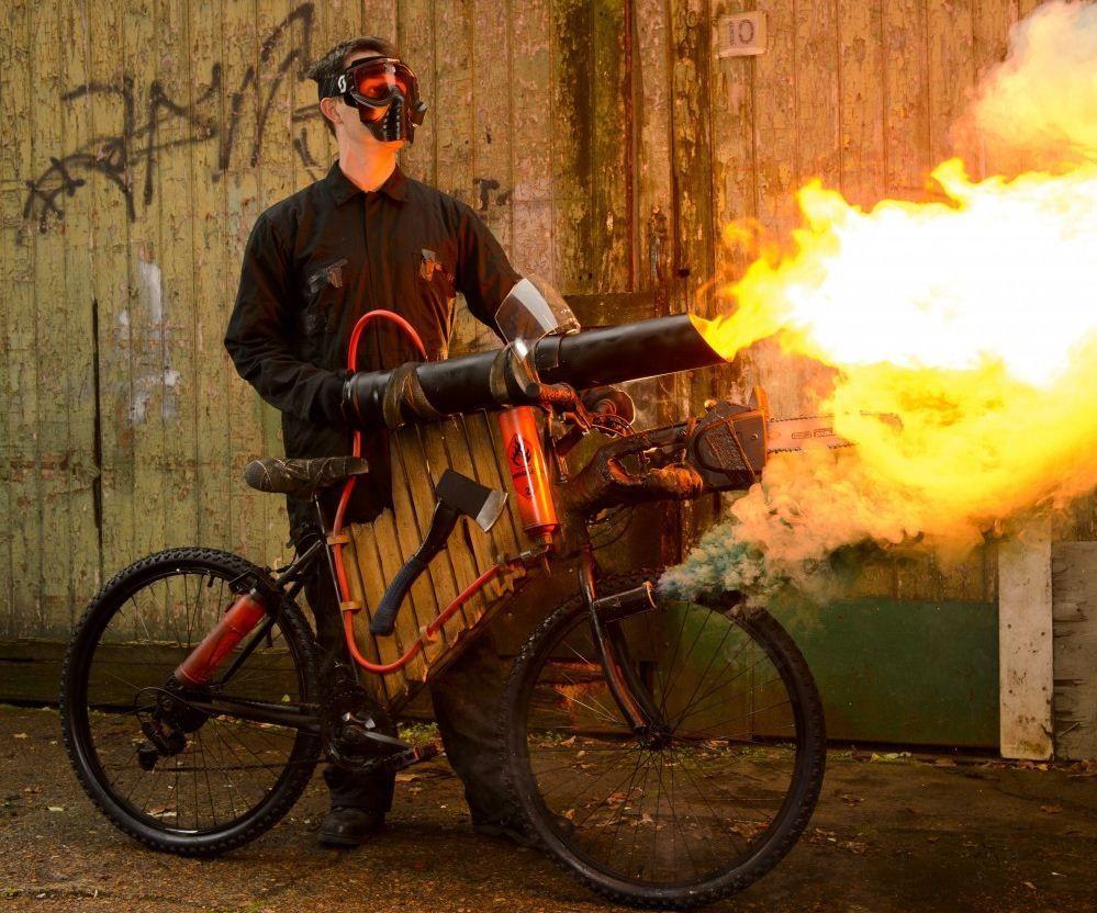 Zombie-proof bicycle