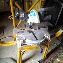 Turn an Old Chair Into a Portable Miter Saw Stand