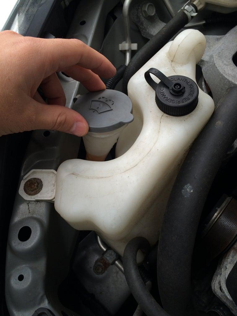 Adding Wiper Fluid