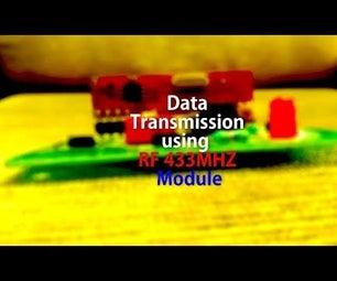 Wireless Bit Wise Data Transmission