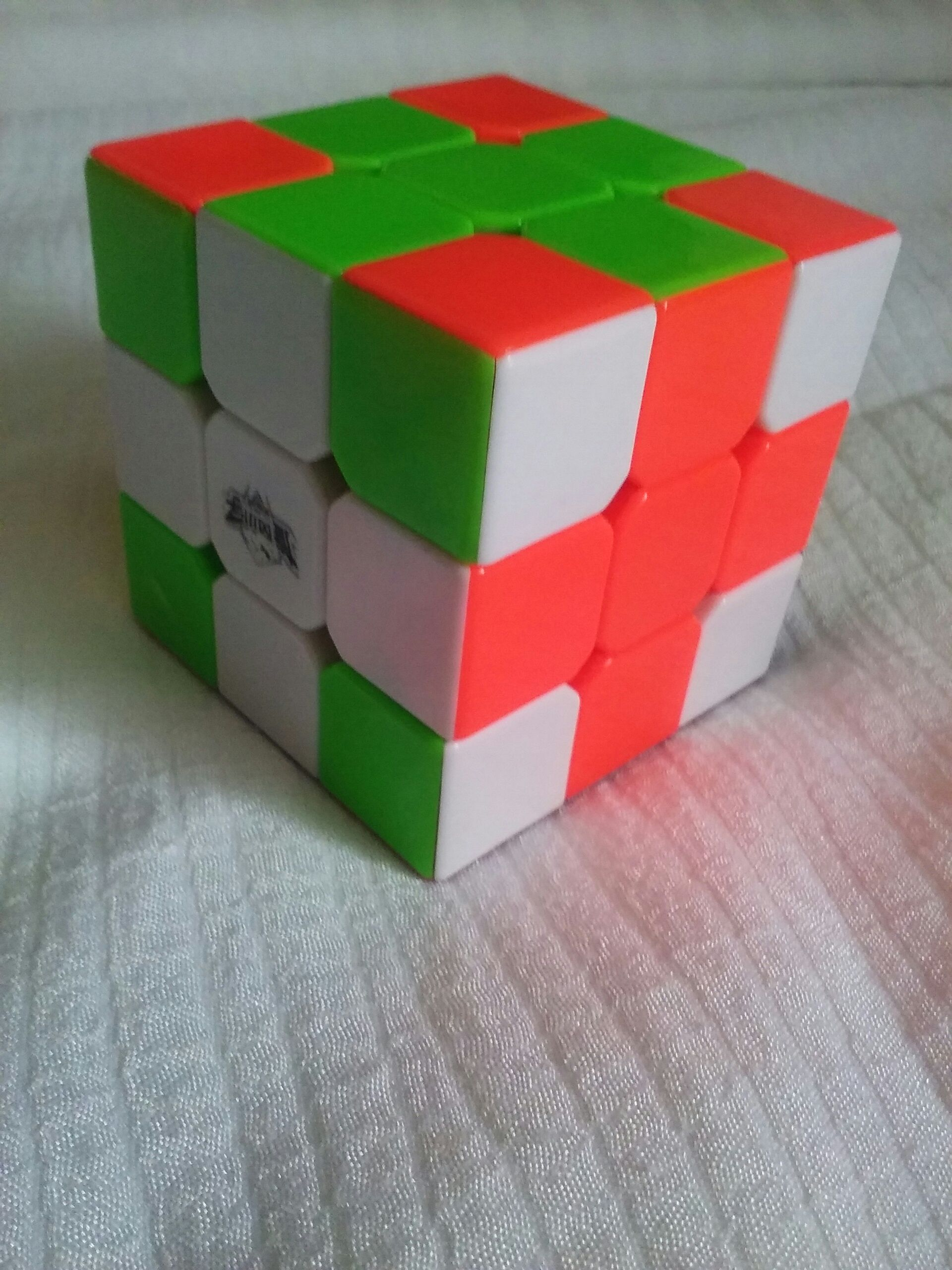 Rubiks Cube Tricks: Cross 4