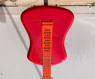 Fully 3D Printed  Acustic Guitar