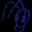 Hormiga Azul