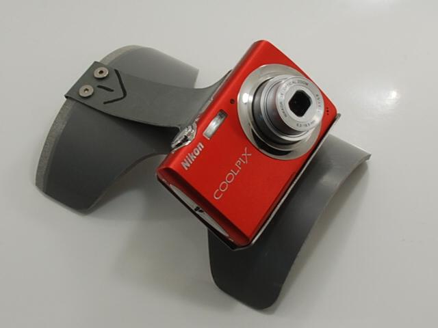 Rear pocket camera mount