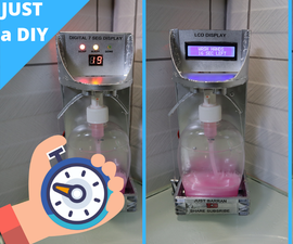 Automatic Soap Dispenser With Hand Wash Timer