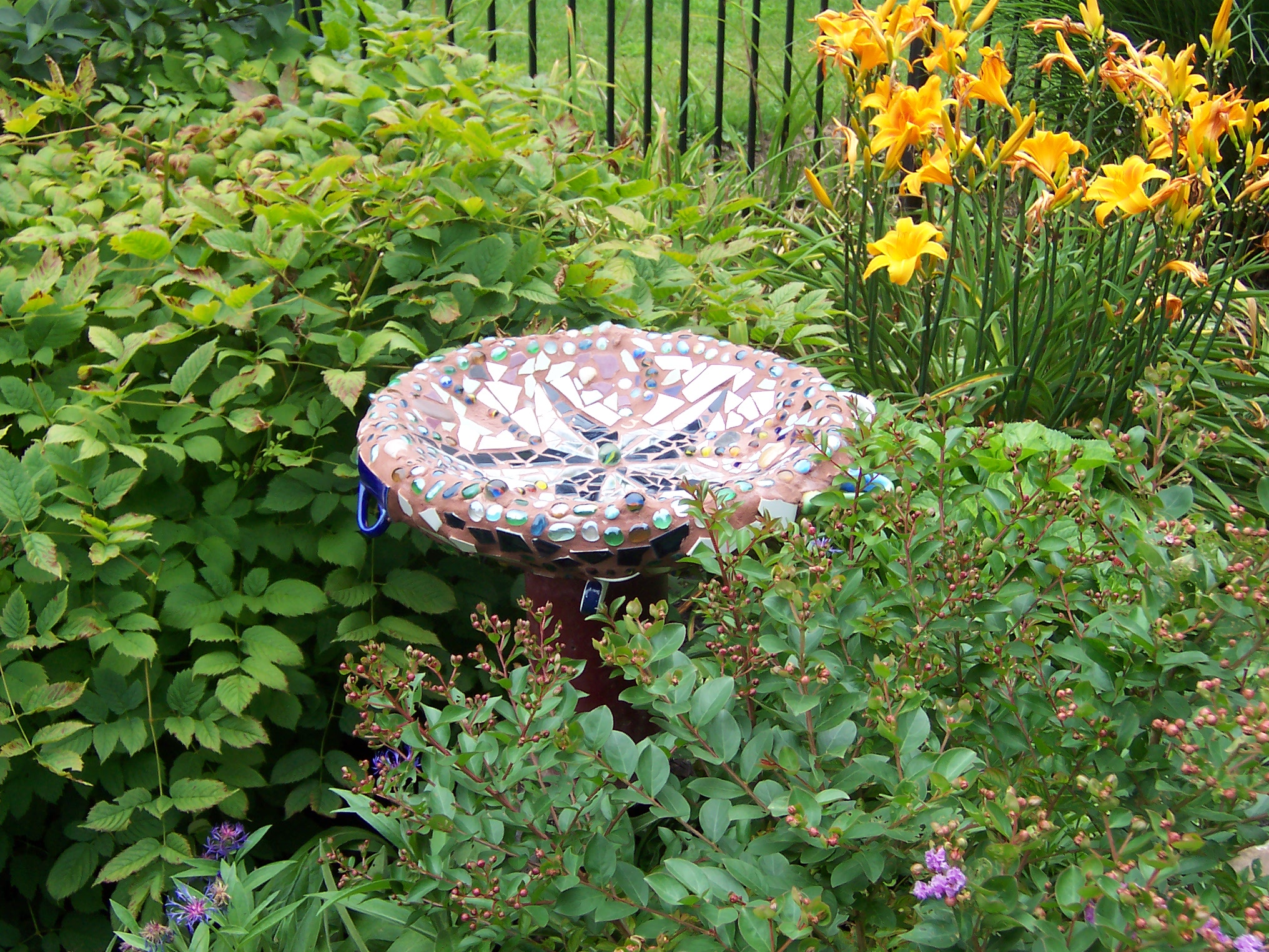 Create an Eccentric Mosaic Garden Ornament
