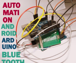 Compact Home Automation Module Based on Android , Bluetooth and Arduino !