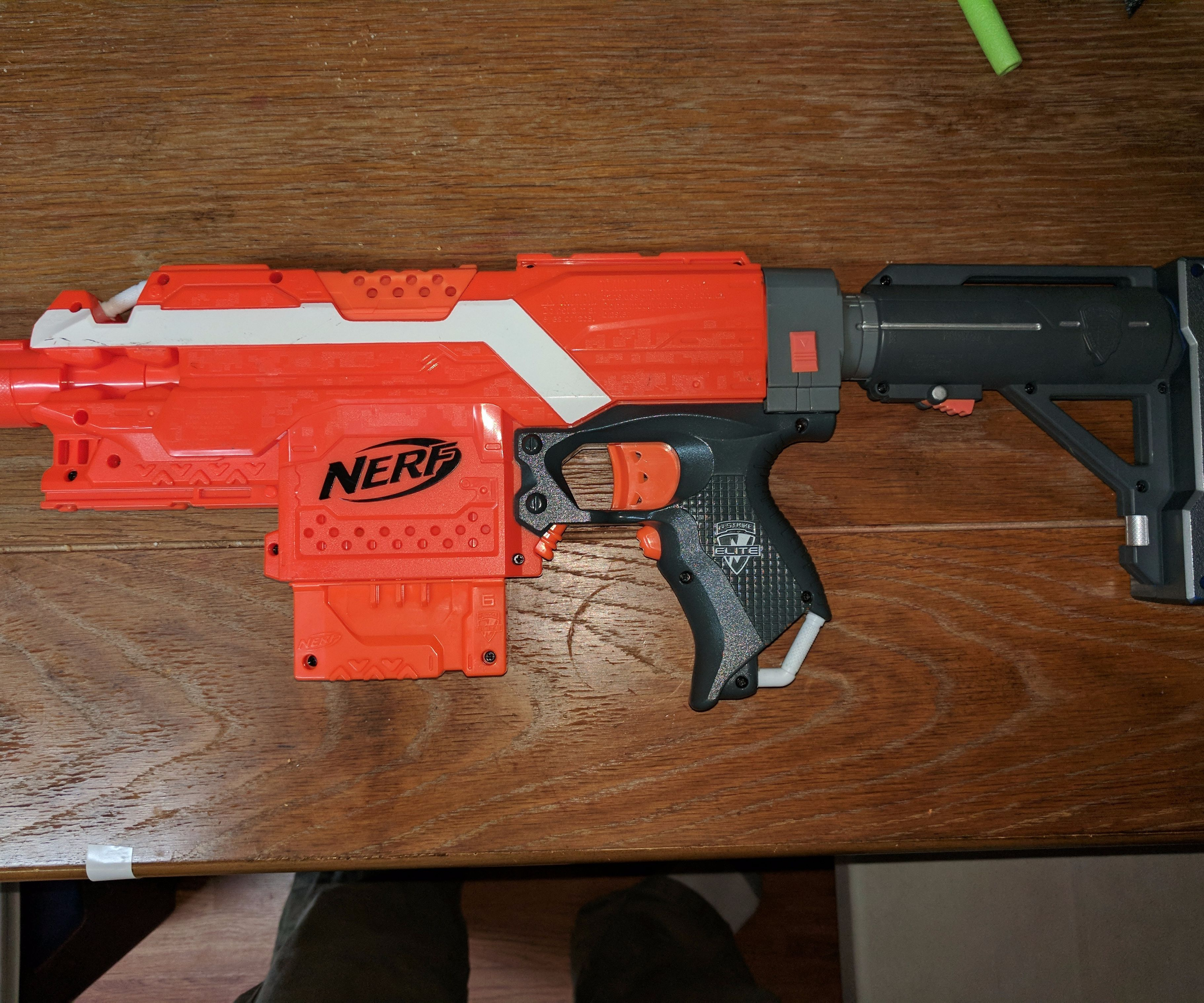 Nerf Stryfe - Disable/remove Locks, Quick and Easy