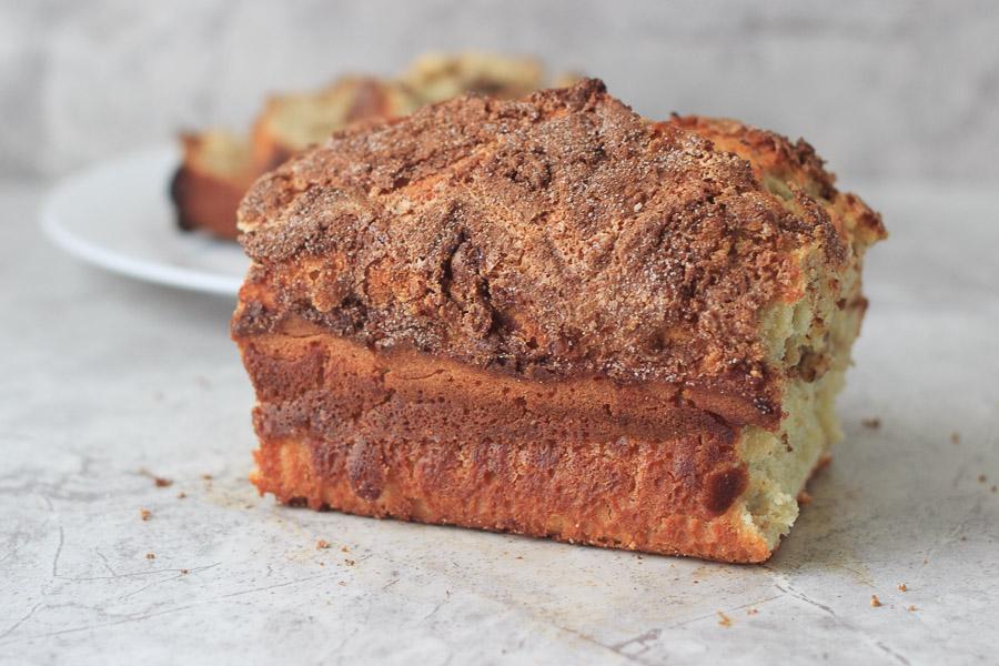 Cinnamon Swirl Sugar Quick Bread (Lighter Version)