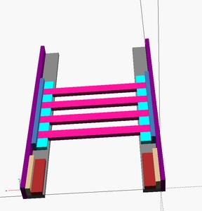 Assemble the End Frames