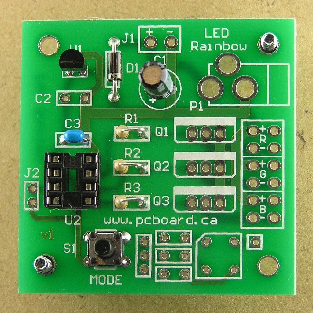 Assembly Step 7: IC Socket U2