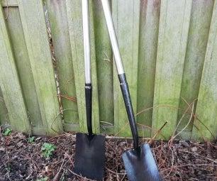 2把铲子要修理和改进