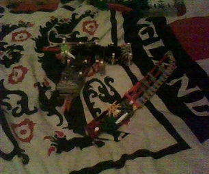 Knex Pistol and Tactical Knife