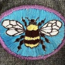 Iron-On Embroidery Patch