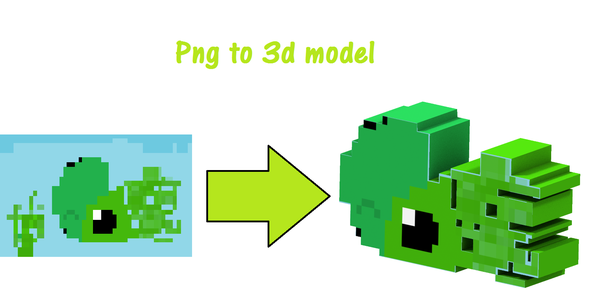 Png to 3d Model