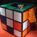 Homemade Rubik's Cube Costume