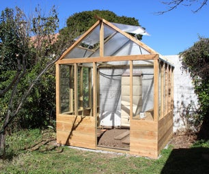 Low Tech Greenhouse Automation : Cooling, Warming, Watering