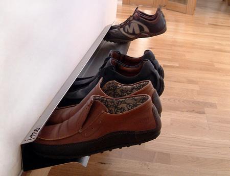 Floating Shoe Rack