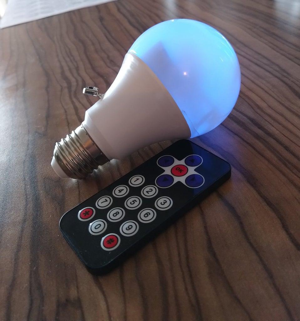 Homemade RGB Light Bulb