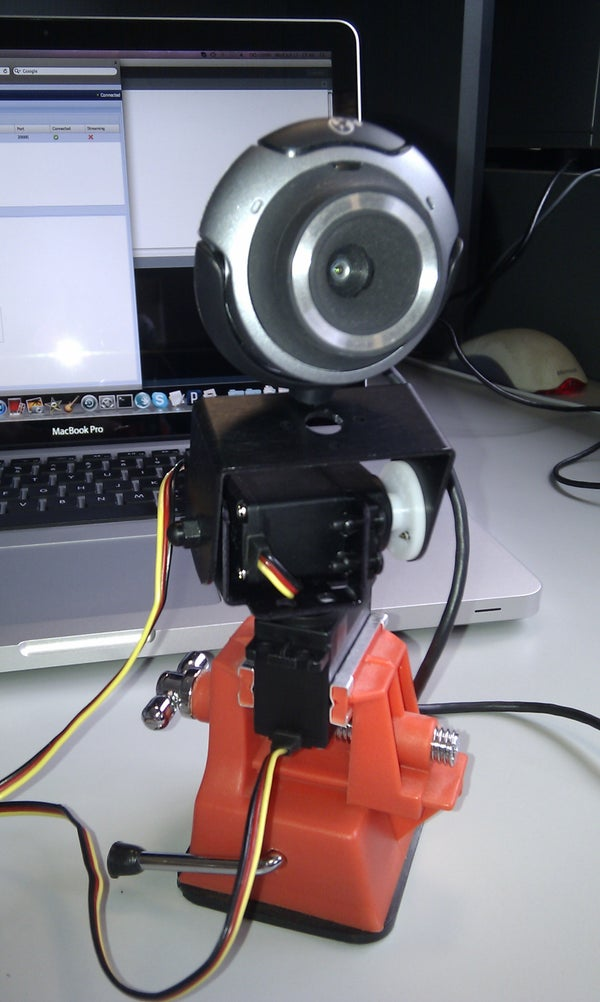 Remote Controlled Webcam Using Arduino, SensorMonkey, JQuery and Justin.tv