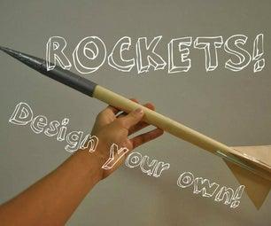 Make Your Own Model Rocket!