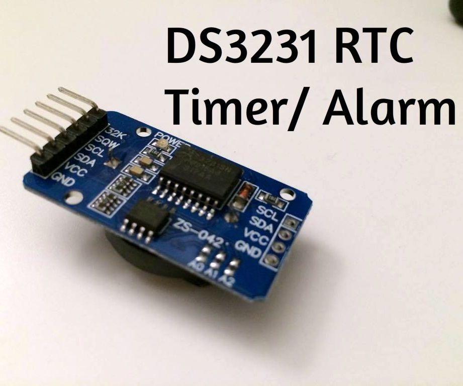 Setup for DS3231 Alarm/Timer function