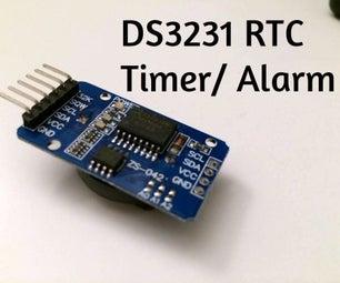 Quick Setup Guide for DS3231 Alarm/Timer Function