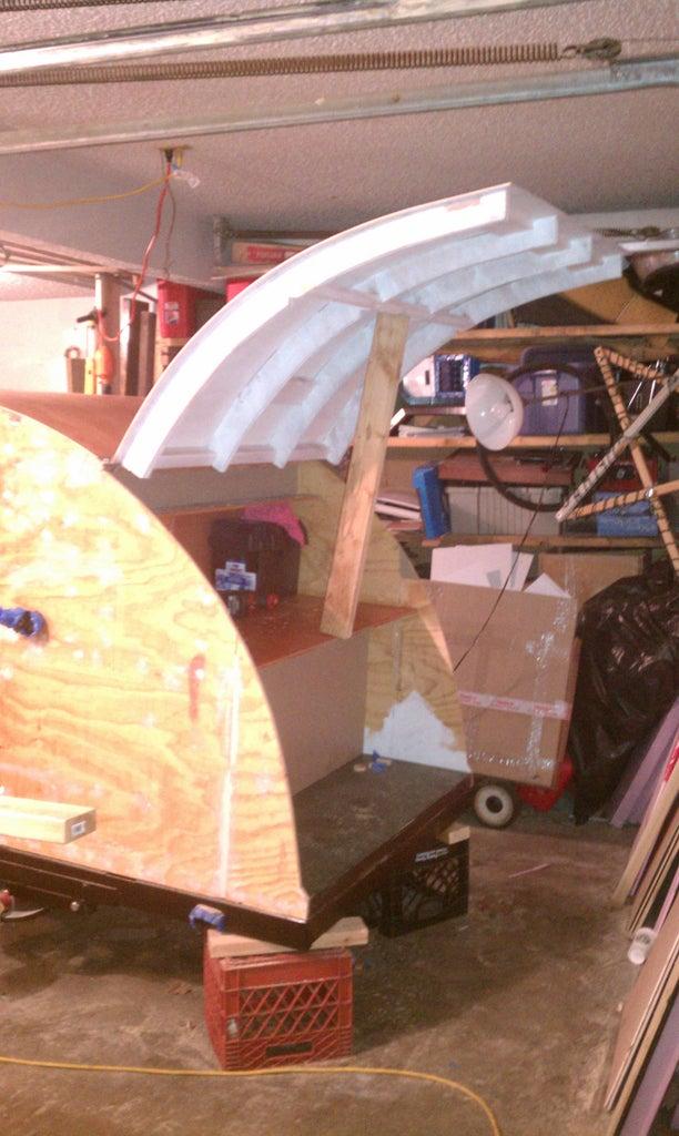 Hatch Part 5 - Attach Hatch Side of Hinge