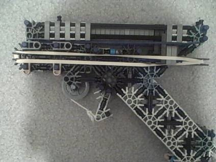 Knex pistol w/ slide and mag