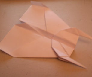 How to Make a Fighter Paper Airplane