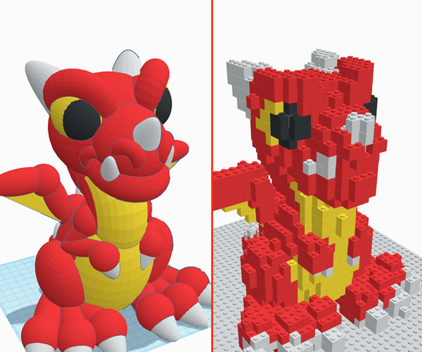 Turn Your 3d Design Into Buildable Brick Models Using Tinkercad