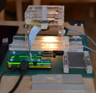 RPiScope: a Raspberry Pi Microscope, Build From Laser Cut Acrylic Parts