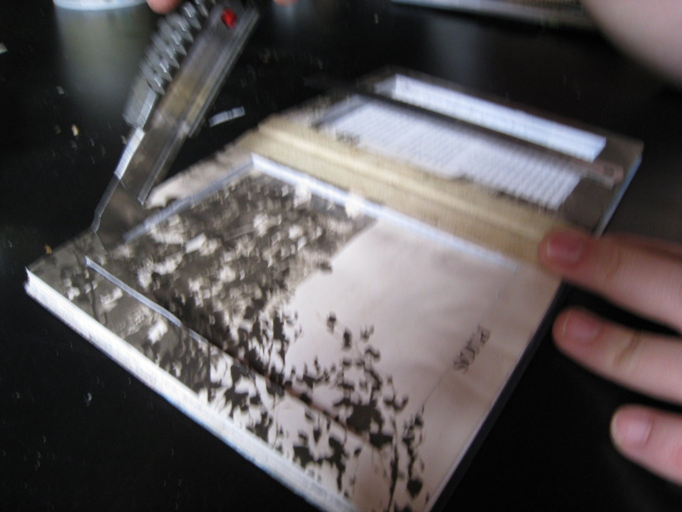 Glue All the Pages Together and Cut