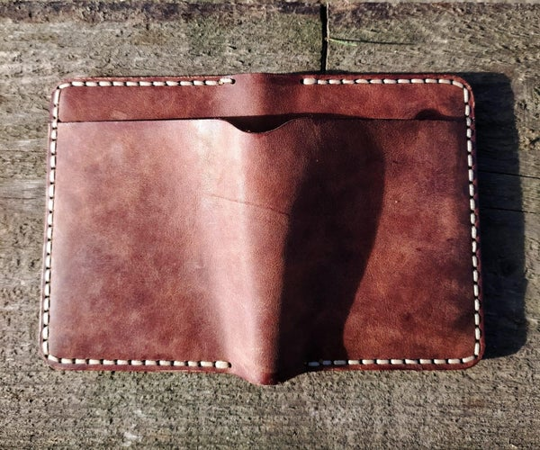 Crafting a Leather Waller Using a Laser Cutter