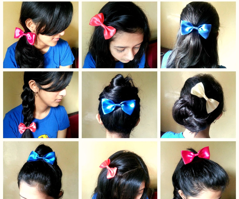 Many Ways to Wear Hair Bow