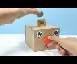 DIY - Coin Bank Box Easy and Unique