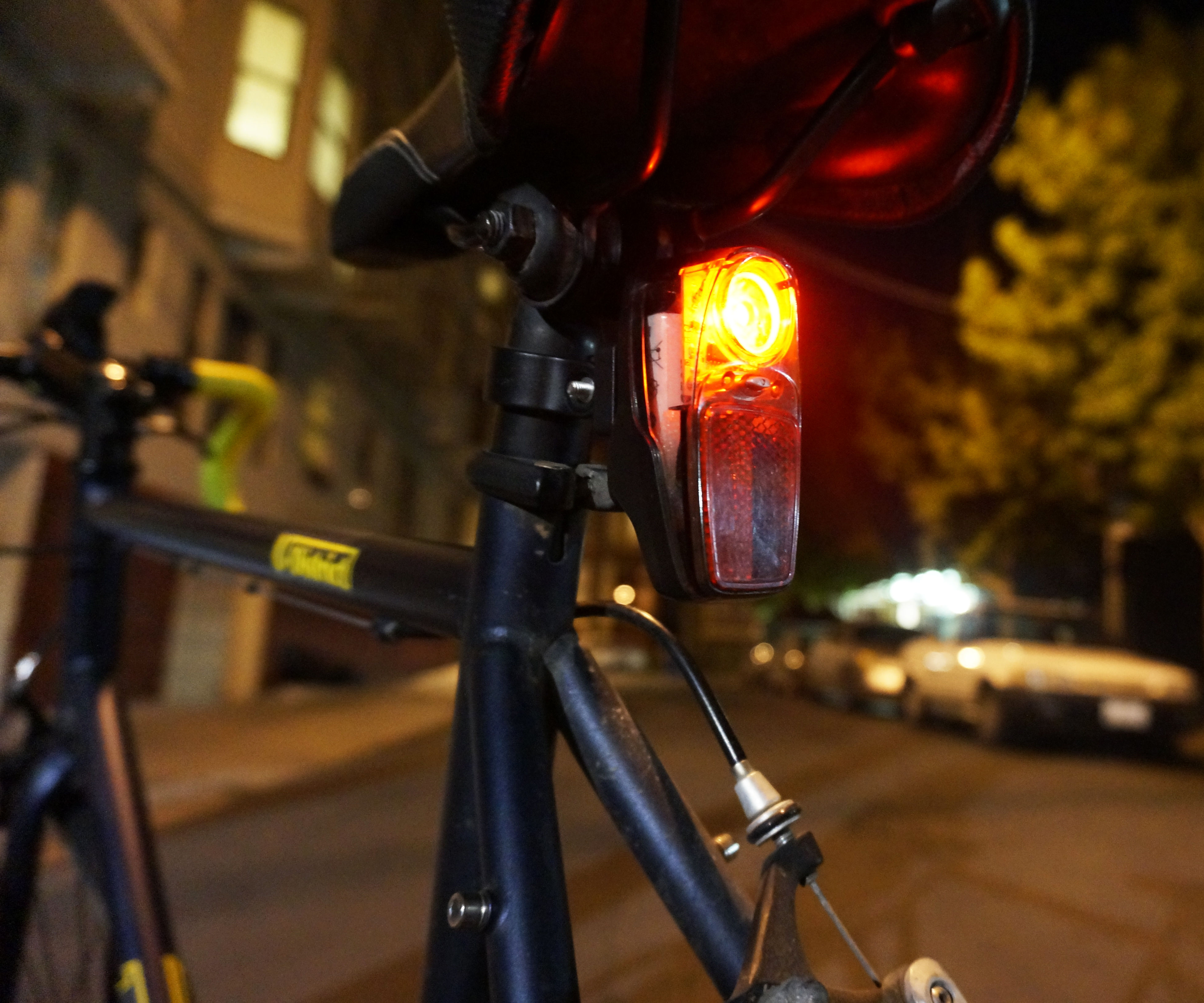 Automatic bike lights