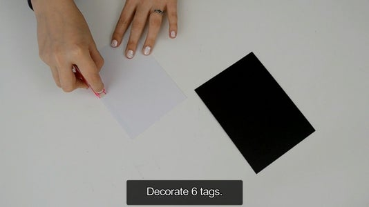 Making the Tags ( Decorating Them )