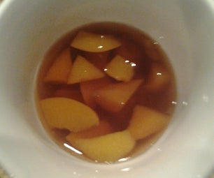 Spived Peach Tea Hot or Cold