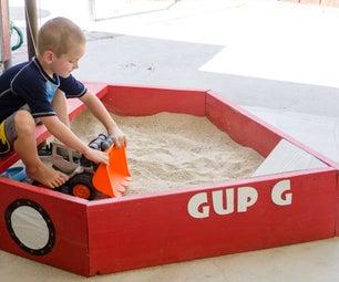 Pirate Ship Sandbox